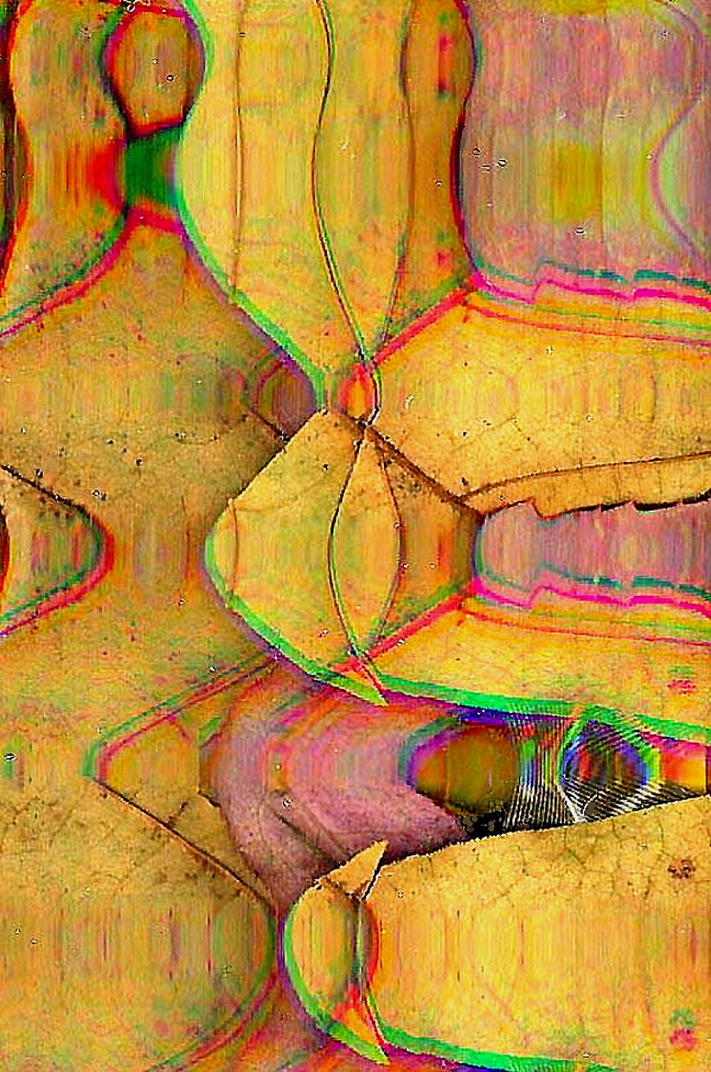 Mixed-Media Digital Image, Making Par Fleche, by Robert Bharda