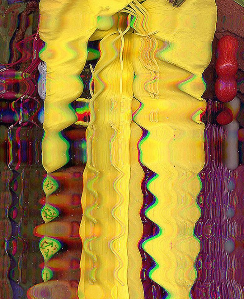 Mixed-Media Digital Image, Sower and Seed (Homage, Van Gogh), by Robert Bharda