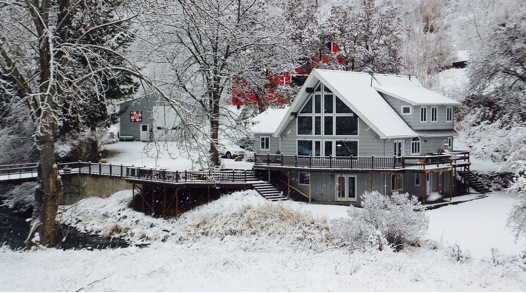 Photograph of Author's Home, by Carolyn Chandler
