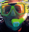 Photo of Greg Taylor, Self-Portrait in Scuba Mask