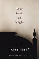 Cover of Our Souls at Night, first edition, by Kent Haruf