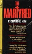 Cover photo of The Martyred, 1964 edition, by Richard E. Kim