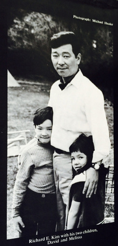 Richard E. Kim and his children