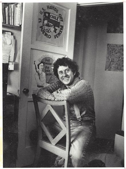 Vintage photograph of Steve Kowit
