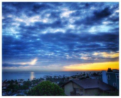 San Pedro Sunrise, 14 February 2018: photograph by Alexis Rhone Fancher
