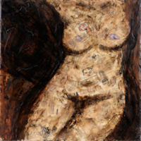 The Torso: painting by Susanne Rockwell; photograph by Eric Peterson