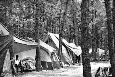 Tent City 2: photograph by Sherry Rubel